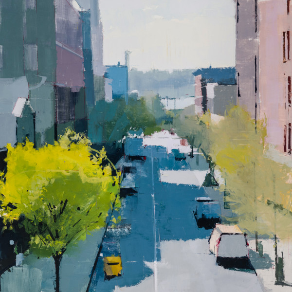 Lisa Breslow, High Line Looking West, 2018