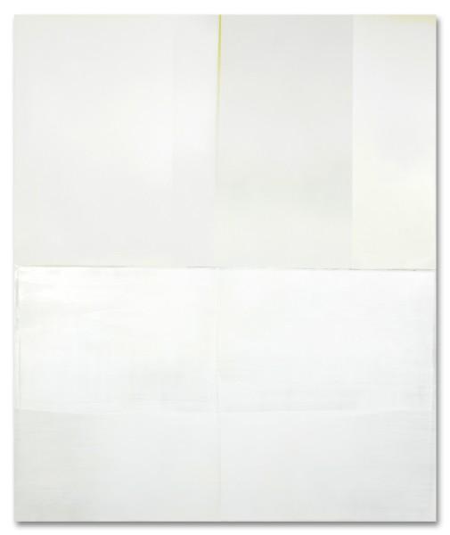 Jeffrey Cortland Jones  Station (Moment), 2014  enamel, gesso, latex, and graphite on acrylic panel  36 x 30 in.