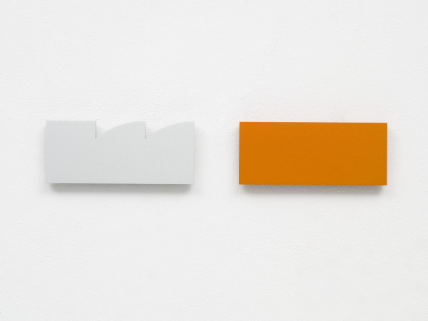 Cecilia Vissers So Far, 2014 anodized aluminum 4 x 17 x 1 in. edition of 25