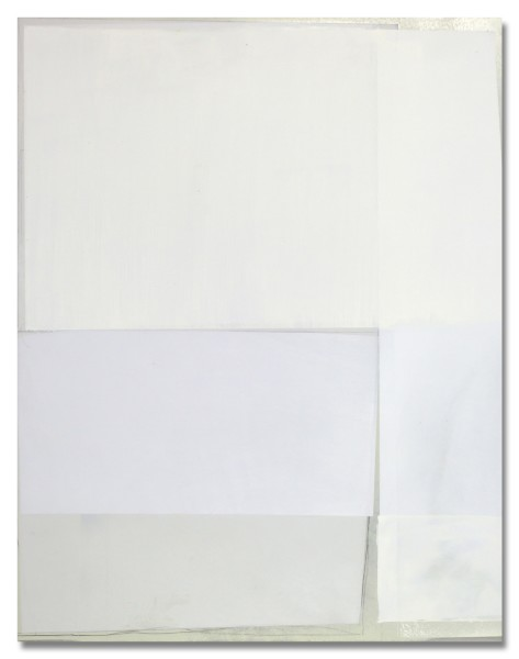 Jeffrey Cortland Jones  Down, 2013  enamel, gesso, latex, and graphite on acrylic panel  14 x 11 in.