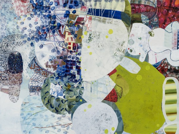 Josette Urso  Lake Side, 2016  oil on canvas  36 x 48 in.