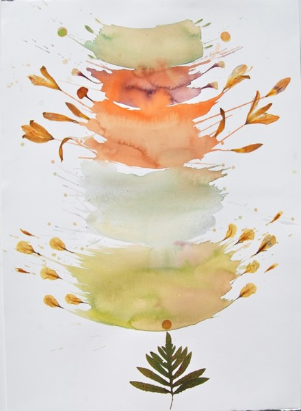 Marilla Palmer, Bursting Petals, 2015