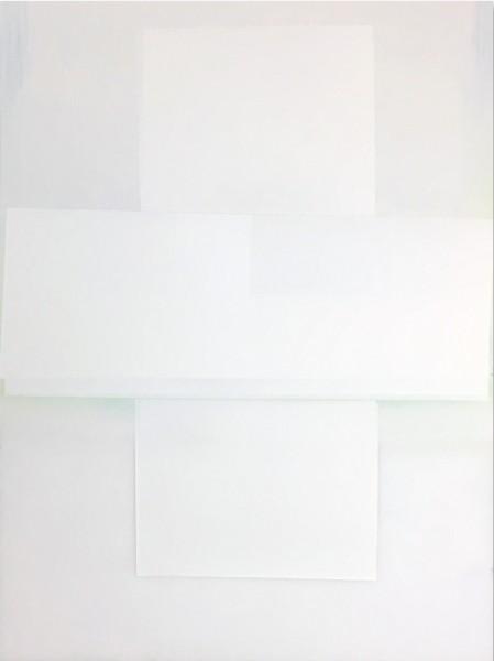 Jeffrey Cortland Jones  Comparatively (Darkslide), 2016  enamel on acrylic panel  48 x 36 in.