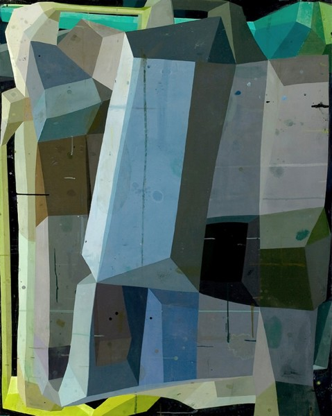 Deborah Zlotsky  And yet, 2011  oil on canvas  60 x 48 in