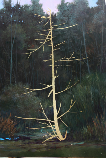 Peter Hoffer, Sleeping Pine, 2017