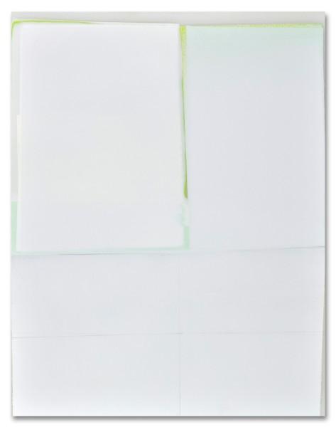 Jeffrey Cortland Jones  Something (Unburden), 2014  enamel, gesso, latex, and graphite on acrylic panel  14 x 11 in.  $1,500