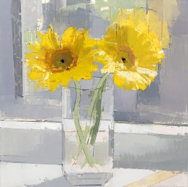 Lisa Breslow, Sunflowers, 2019