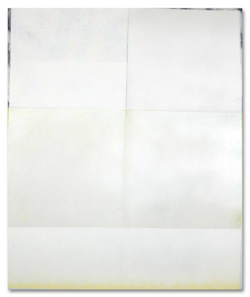 Jeffrey Cortland Jones  Interaction (Division), 2014  enamel, gesso, latex, and graphite on acrylic panel  36 x 30 in.