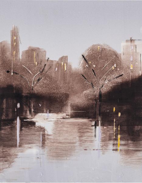 Lisa Breslow, Central Park Nocturne 4, 2018