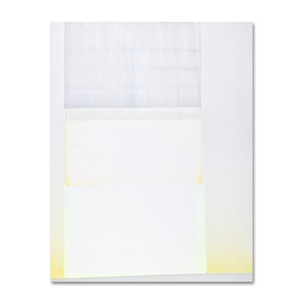 Jeffrey Cortland Jones  Light (Sleeper), 2014  enamel, gesso, latex, and graphite on acrylic panel  14 x 11 in.