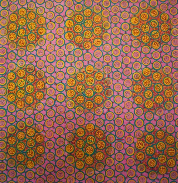 Diane Ayott  Happy Limbo, 2014  mixed media on paper  20 x 19 1/2 in 50.8 x 49.5 cm