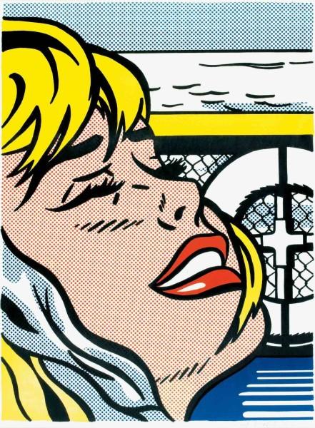 Roy Lichtenstein, Shipboard Girl, 1965
