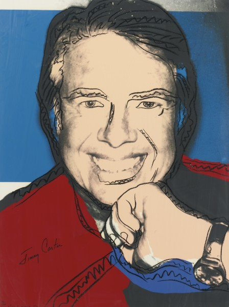 Andy Warhol, Jimmy Carter II, 1977