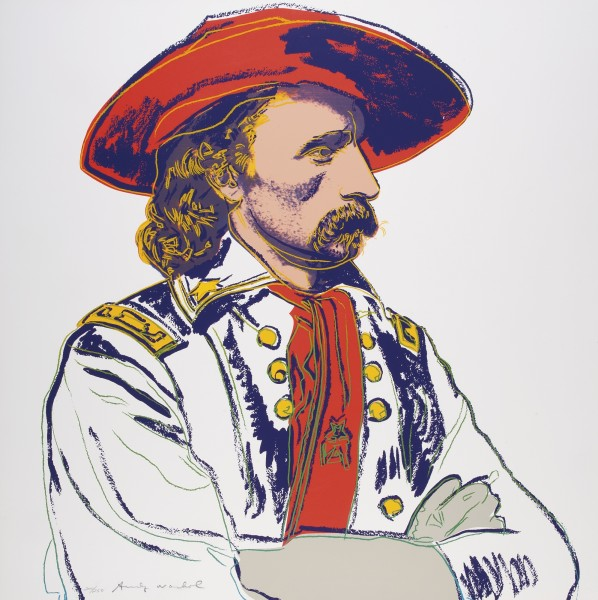 Andy Warhol, General Custer, 1986