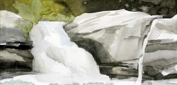 Mariella Bisson, Platte Clove, Second Falls
