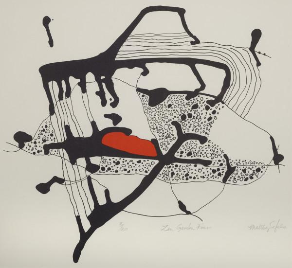 Maltby Sykes (1911 - 1992), Zen Garden Four