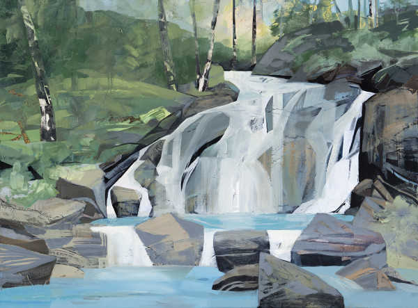 Mariella Bisson, Carving Rock Falls
