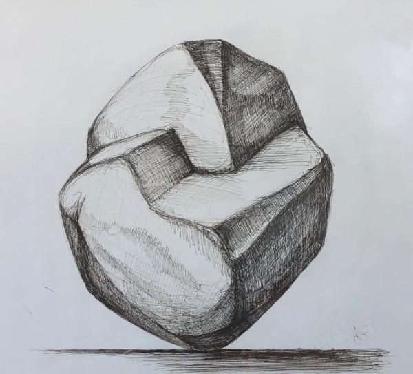 Hoss Haley, Erratic Drawing 1