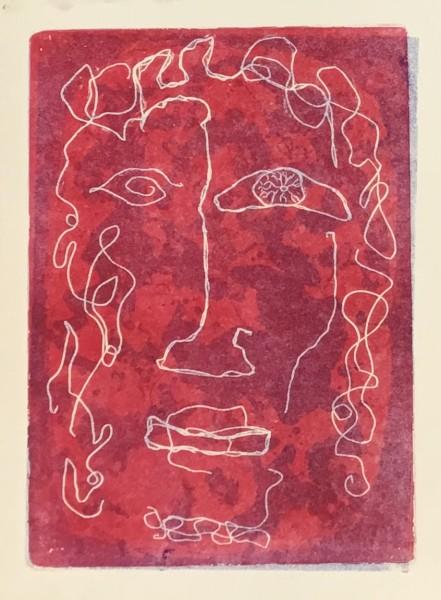 Maltby Sykes (1911 - 1992), Medusa - White (unframed)