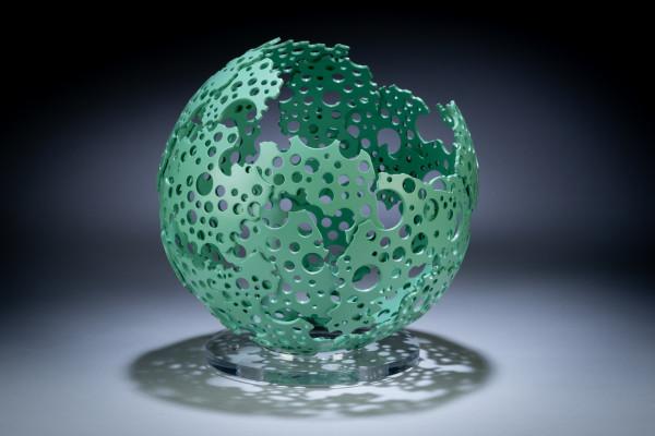 Michael Enn Sirvet, Verdigris Shadow Sphere