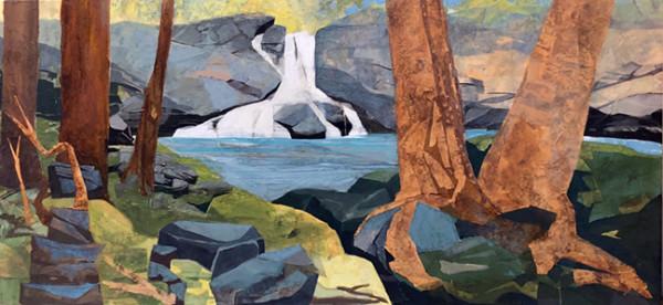 Mariella Bisson, Summer Falls Panorama