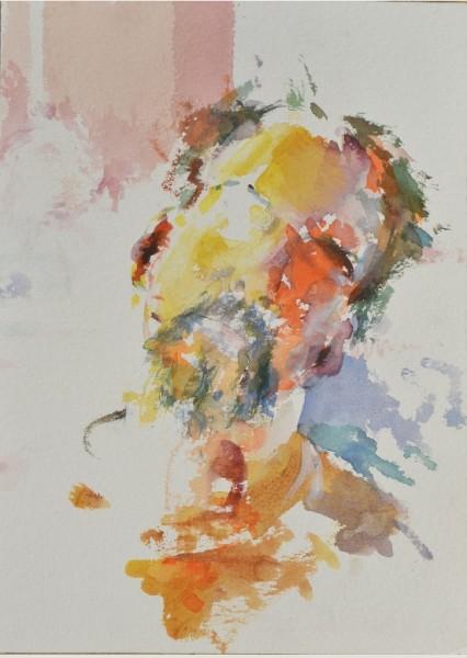 Paul Sattler, Self-Portrait