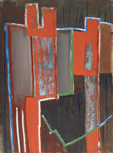 Maltby Sykes (1911 - 1992), Architectural Abstraction