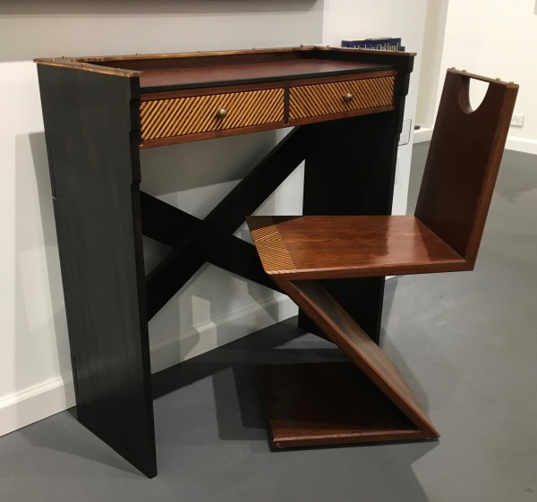 Garry Knox Bennett, Little Desk with Matching Z Chair