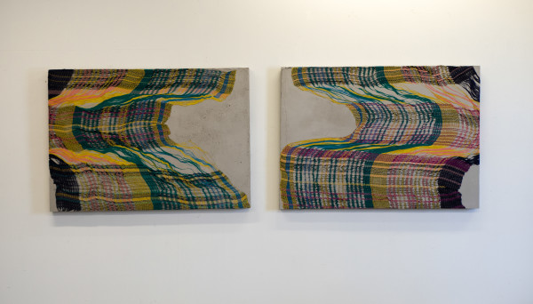 Crystal Gregory, Untitled Diptych