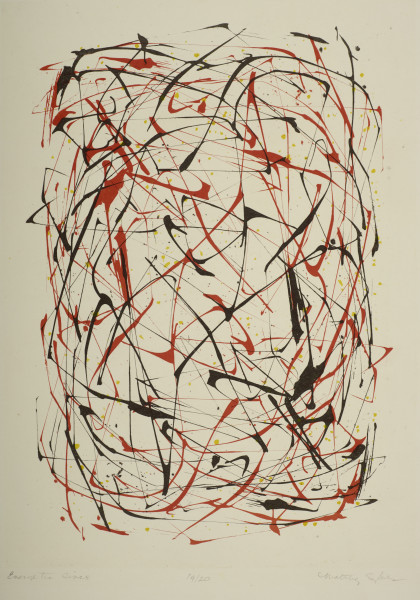 Maltby Sykes (1911 - 1992), Energetic Lines, 1952