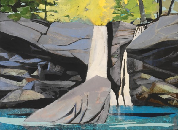 Mariella Bisson, Waterfall, Rock That Fell to Earth