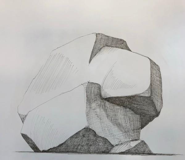 Hoss Haley, Erratic Drawing 4