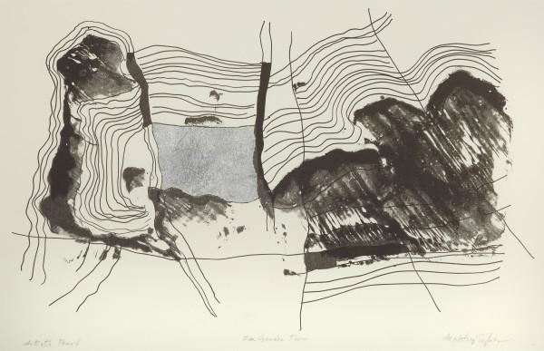 Maltby Sykes (1911 - 1992), Zen Garden Two