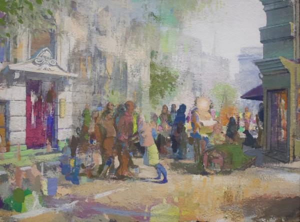 Paul Sattler, London Streetwalk