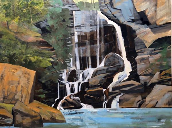 Mariella Bisson, Big Bradley Falls