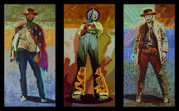 Michael Blessing, Neon Gunslingers