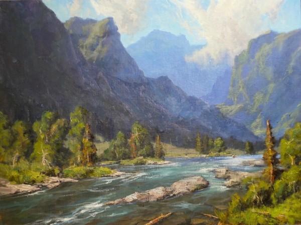 Bill Davidson, YELLOWSTONE RIVER