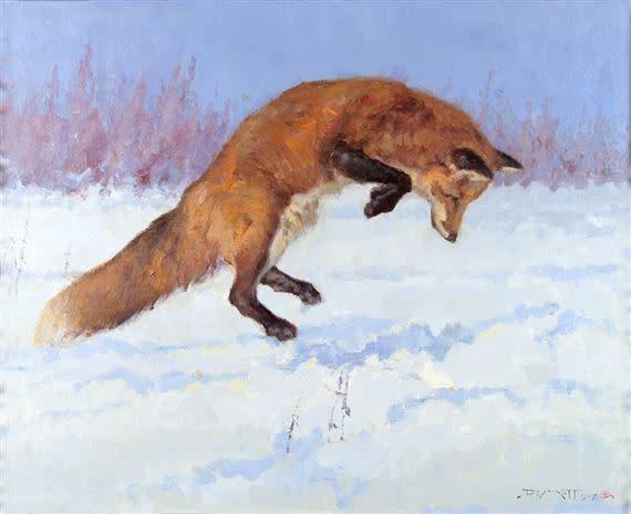 John DeMott, POUNCING FOX