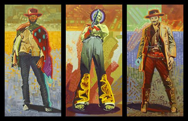 Michael Blessing, Neon Gunslinger