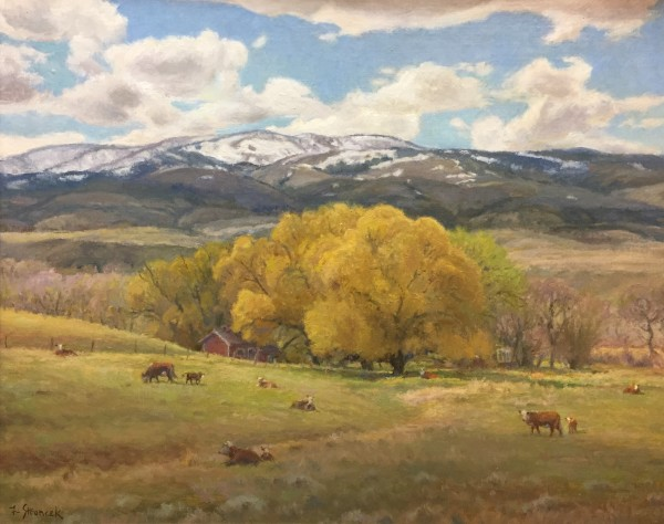 Lee Stroncek, SPRING WILLOWS PARADISE VALLEY