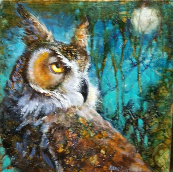 Jerolyn Dirks, HORNED OWL