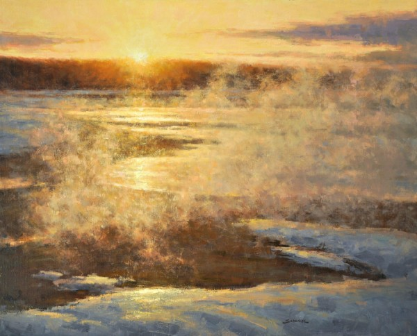 Greg Scheibel, Sunset in Yellowstone