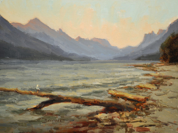 Greg Scheibel, Waterton Lake Sunrise