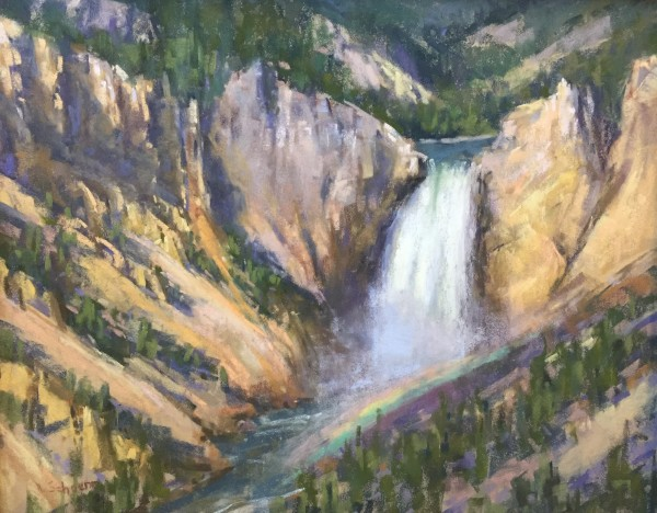 Aaron Schuerr, LOWER FALLS OF THE YELLOWSTONE