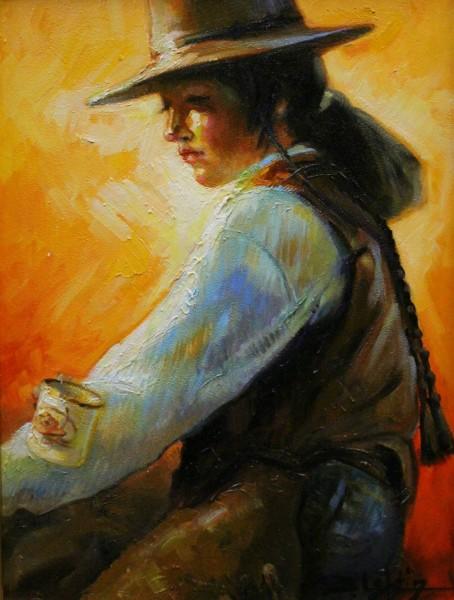 Beth Loftin, RANCHER'S DAUGHTER