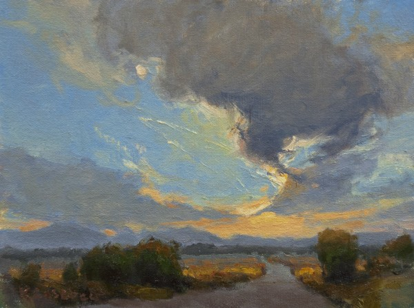 Kim Casebeer, CLOUDS DANCING