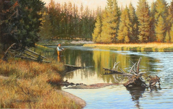 David Evans, LATE SUMMER AT BUFFALO CROSSING