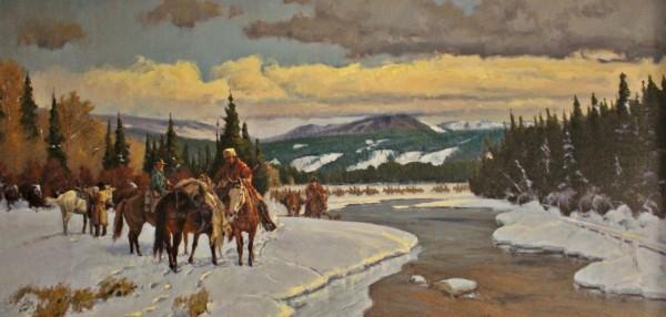 John DeMott, Leather Mules and Men