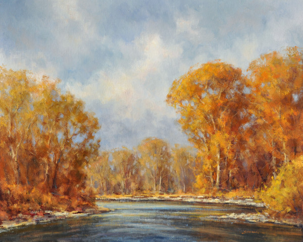 Greg Scheibel, Gallatin River Autumn
