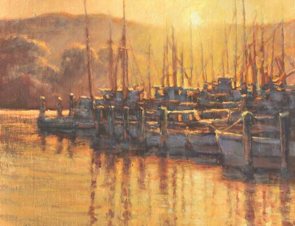 Greg Scheibel, Morning at the Marina